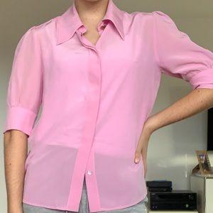 Stella McCartney Pink Apple Blouse